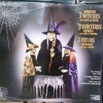 コストコの動く魔女と動くガイコツ&ハロウィングッズ