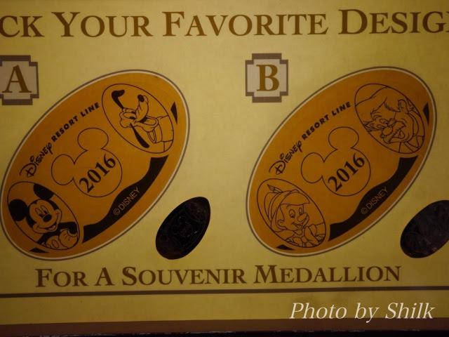 ディズニースーベニアメダル