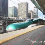 新幹線を見に子連れで東京駅に行ってきました♪
