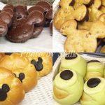 ディズニーランドでミッキーの可愛いパン【スウィートハート・カフェ】