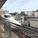 新幹線を見に1歳児を連れて新横浜に行ってきました♪