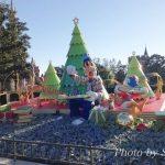 ディズニーランドクリスマス2016シンデレラ城前広場のデコレーションをルポ♪