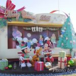 ディズニーランドクリスマス2016エントランスのデコレーション飾り付けをルポ♪