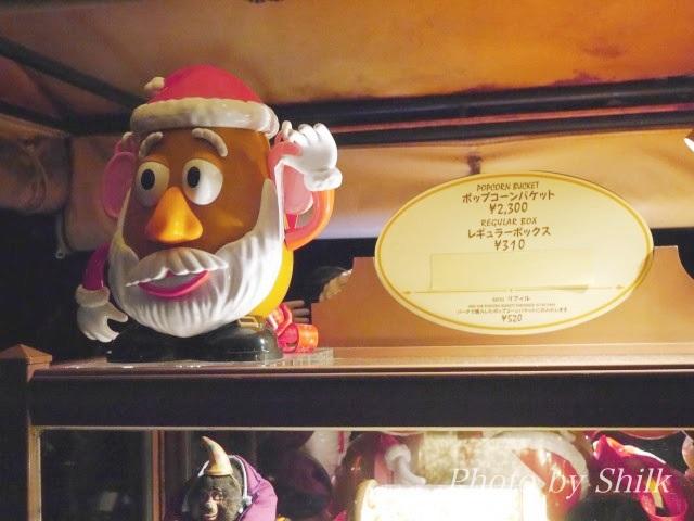 ディズニークリスマスポップコーン