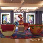 セレブレーションホテルのロビー&中庭をレポ♪【ウィッシュ棟】編