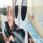 アナとエルサのスノークリスタルライナー(リゾートライナー)に乗ったよ♪