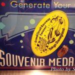 TDLグランドサーキットレースウェイ(ゴーカート)のスーベニアメダルをゲット♪
