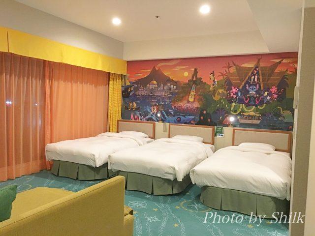 ディズニーセレブレーションホテル・ディスカバー棟に泊まったよ♫ワクワクするお部屋をレポ