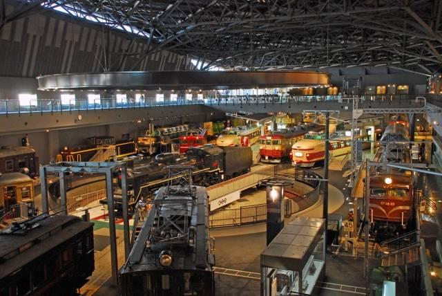 鉄道博物館のイメージ