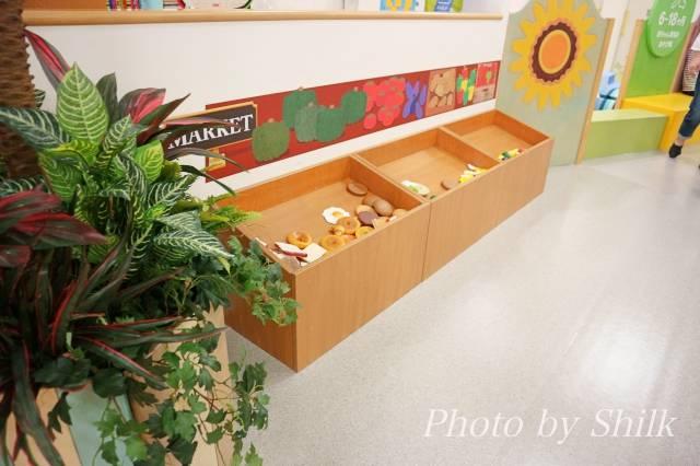 リニューアルしたキドキドテラスモール湘南店マーケットプレイスの写真