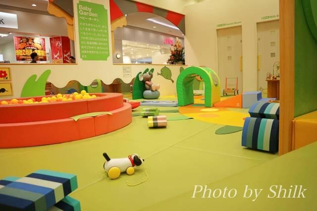 リニューアルしたキドキドテラスモール湘南店赤ちゃんエリアの写真