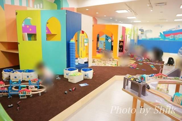 リニューアルしたキドキドテラスモール湘南店ディスカバリータウンの写真