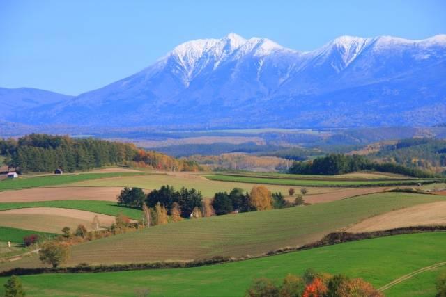大雪山の紅葉のイメージ
