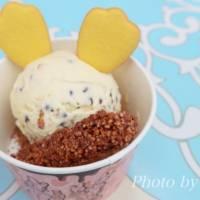 夏ディズニーは【アイスクリームコーン】の可愛いアイスで一休みしよう♪