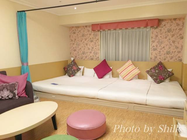 オリエンタルホテル東京ベイのキディスイート・ショコラのお部屋の様子