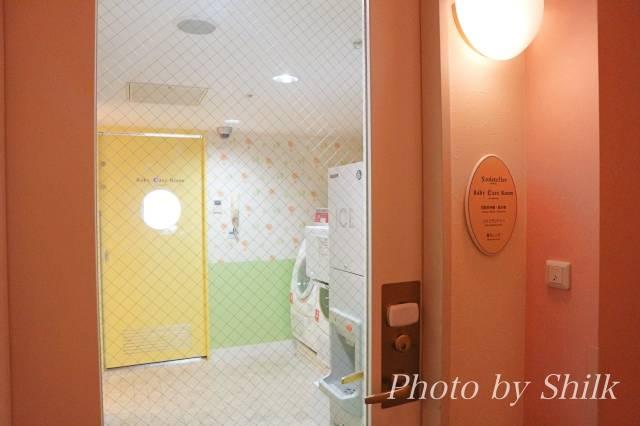 オリエンタルホテル東京ベイのソダテリエ入り口