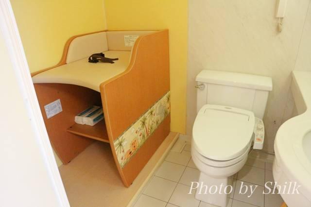 オリエンタルホテル東京ベイのソダテリエのトイレ