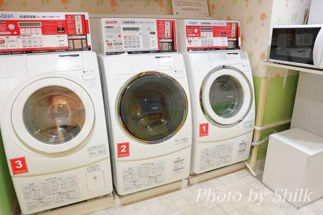 オリエンタルホテル東京ベイのソダテリエにある洗濯機