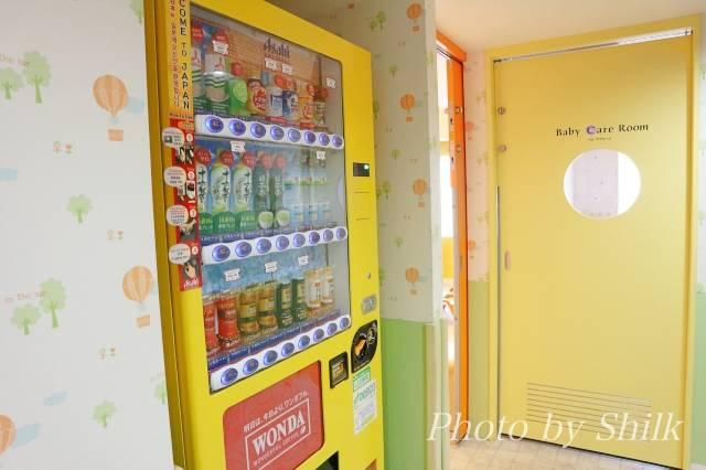 オリエンタルホテル東京ベイのソダテリエの自動販売機