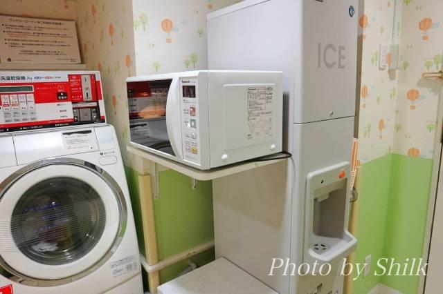 オリエンタルホテル東京ベイのソダテリエの電子レンジと製氷機