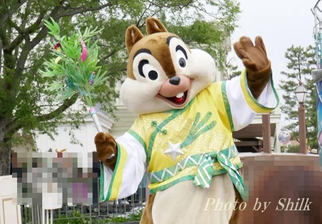 ディズニー七夕デイズ2018チップ
