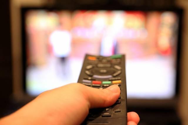 VODサービスをテレビで見るイメージ