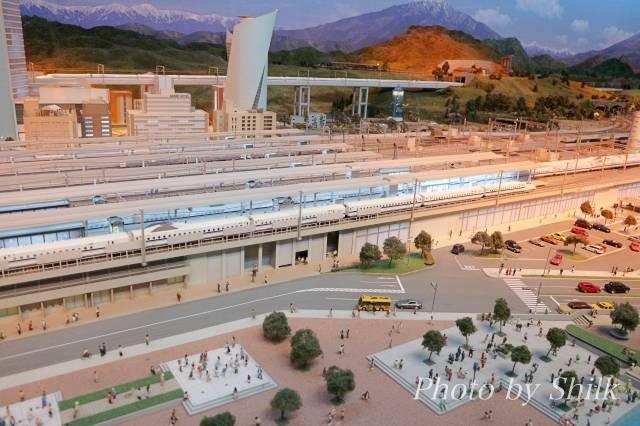 リニア・鉄道館の展示・鉄道ジオラマ