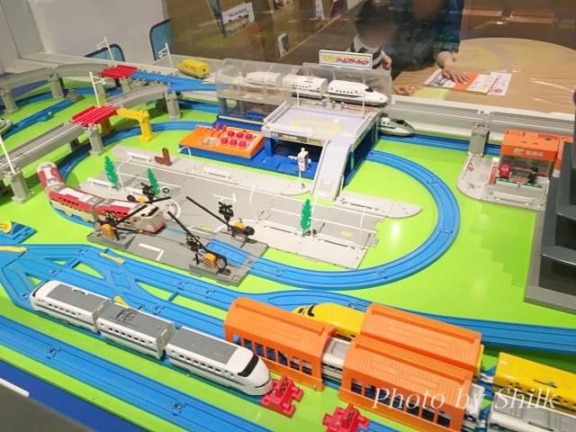 リニア・鉄道館のキッズスペース