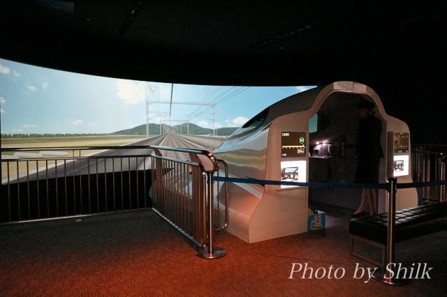 リニア・鉄道館の新幹線シミュレータ「N700」