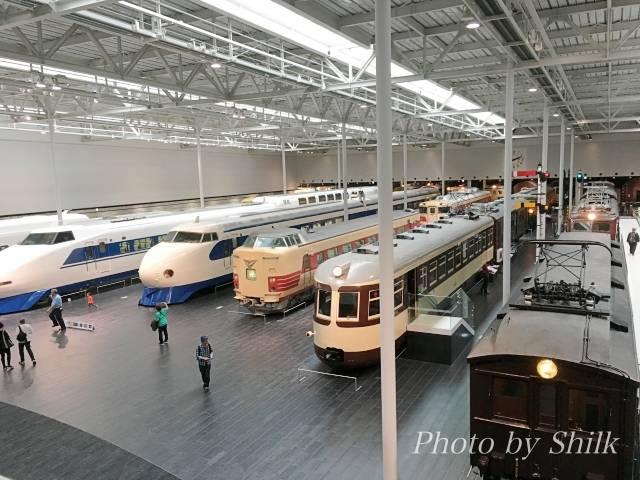 リニア・鉄道館の展示車両:1階