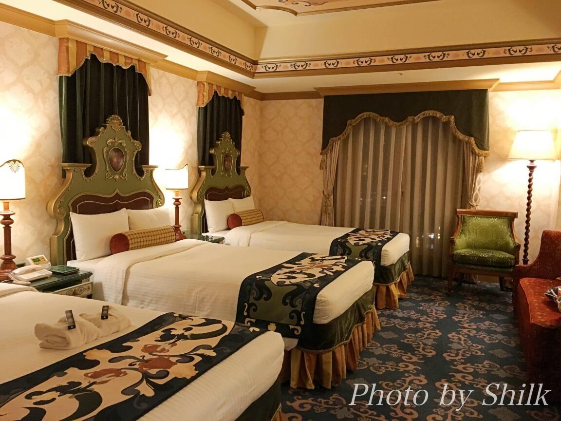 ホテル・ミラコスタの部屋