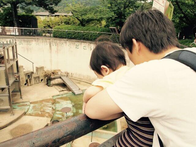パパと動物園