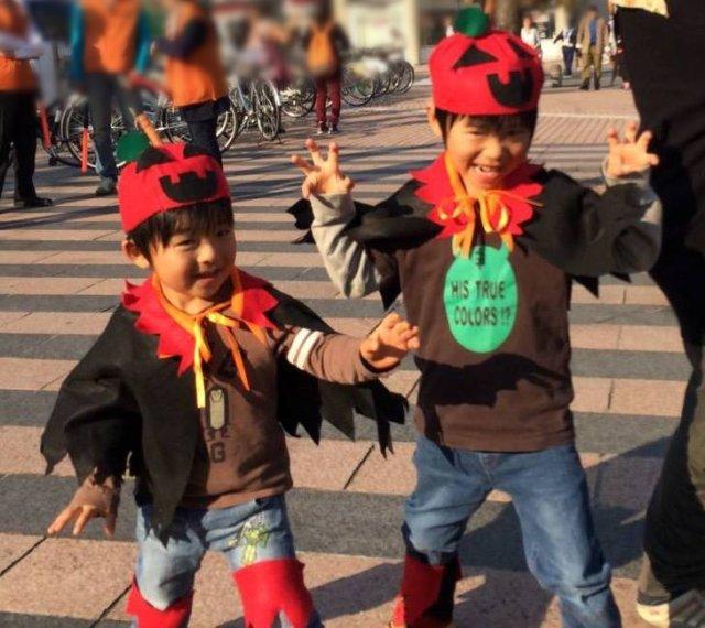 ハロウィンパレードのイメージ