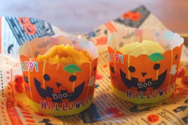 ハロウィンかぼちゃのお菓子