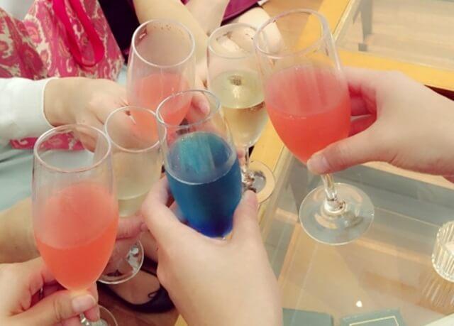 パーティー乾杯