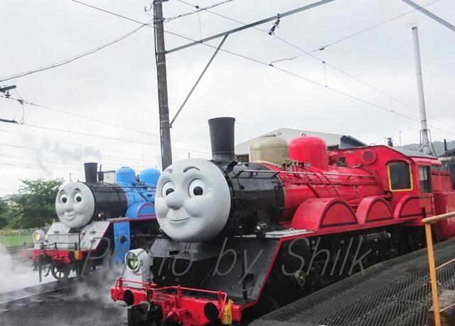 大井川鉄道トーマス号ジェームス号