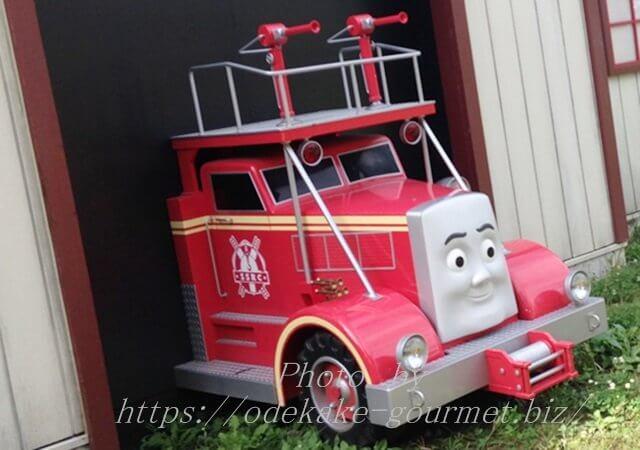 トーマスの仲間消防車のフリン