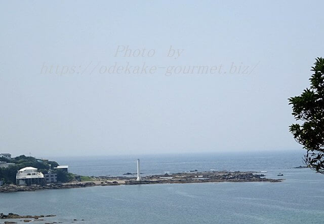 油壺マリンパークから見る海
