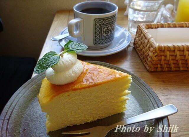 江ノ島「Cafe610」ケーキセット