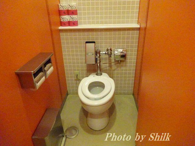 新江ノ島水族館・幼児用トイレ