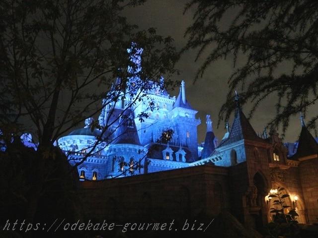 tdl美女と野獣のお城の写真