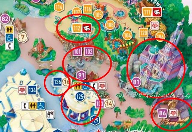 TDL新エリアの地図2