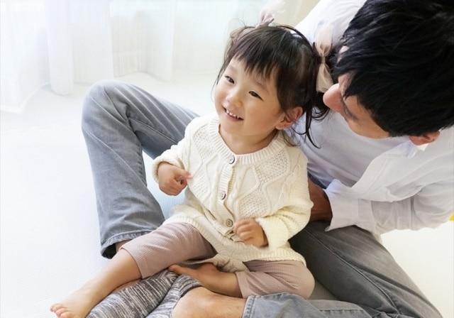 パパと娘のイメージ写真